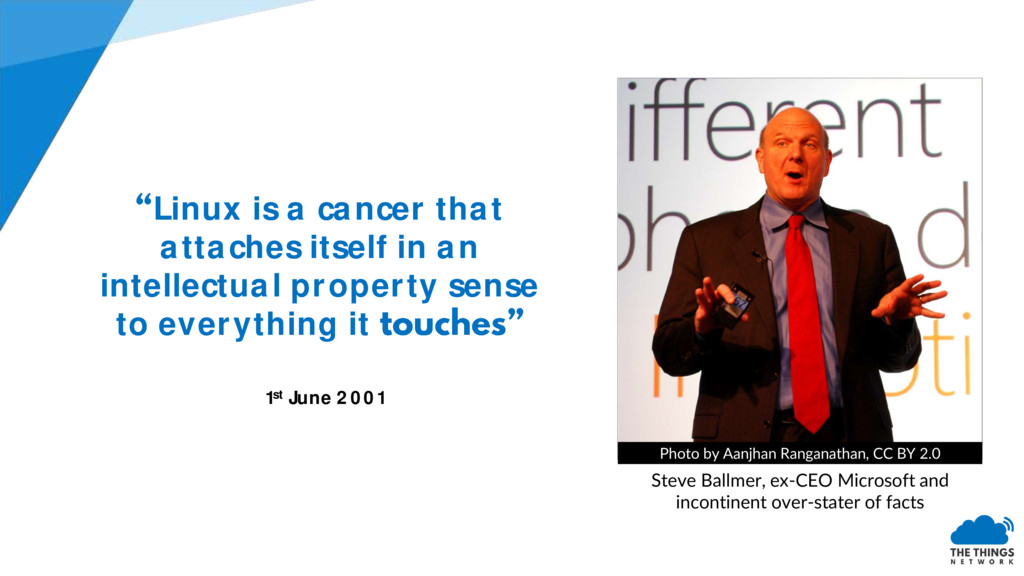 Linux is a cancer that attaches itself in an in...