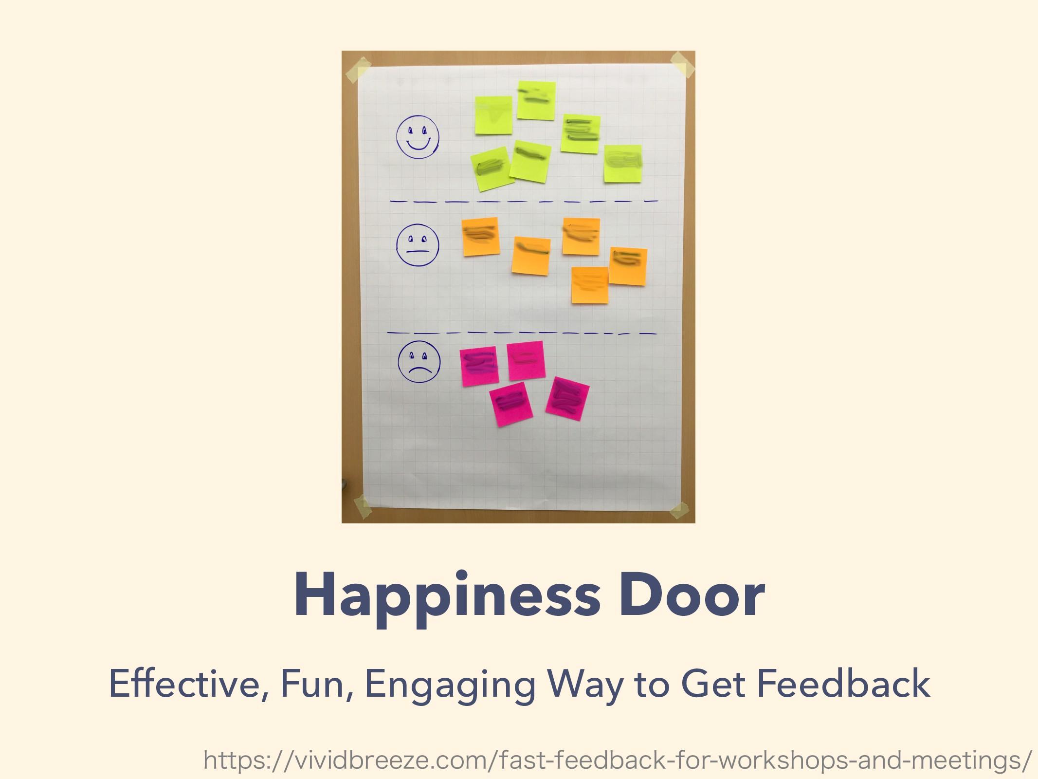 Happiness Door Effective, Fun, Engaging Way to ...
