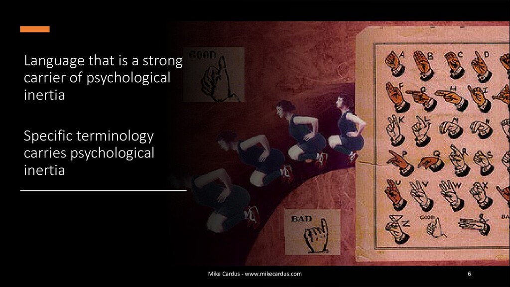 Language that is a strong carrier of psychologi...