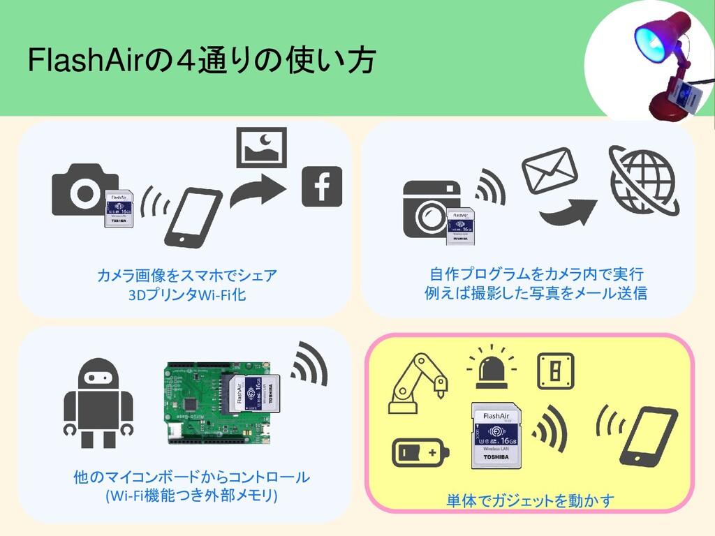 #IoTLT カメラ画像をスマホでシェア 3DプリンタWi-Fi化 自作プログラムをカメラ内で...