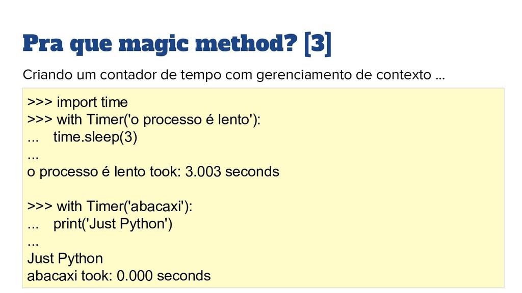 Pra que magic method? [3] Criando um contador d...