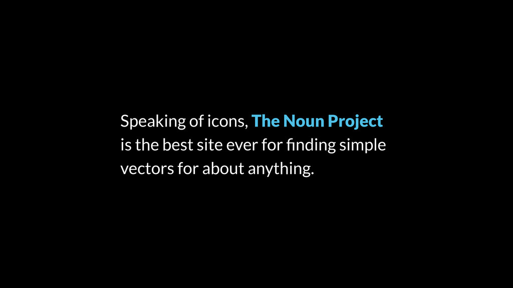Speaking of icons, The Noun Project is the best...