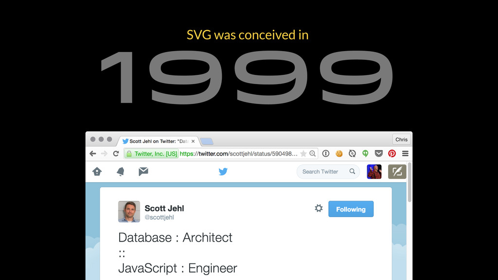 1999 SVG was conceived in