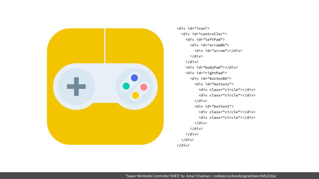 """Super Nintendo Controller SNES"" by Amar Chauha..."