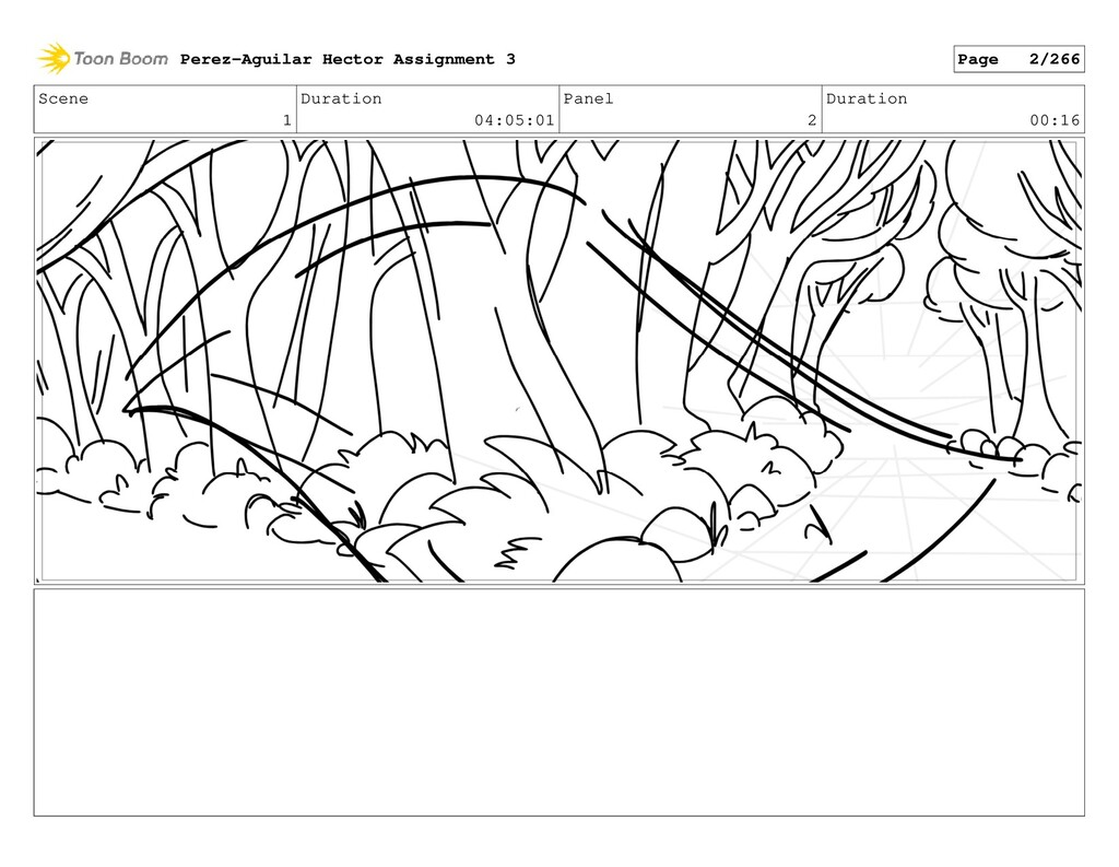 Scene 1 Duration 04:05:01 Panel 2 Duration 00:1...
