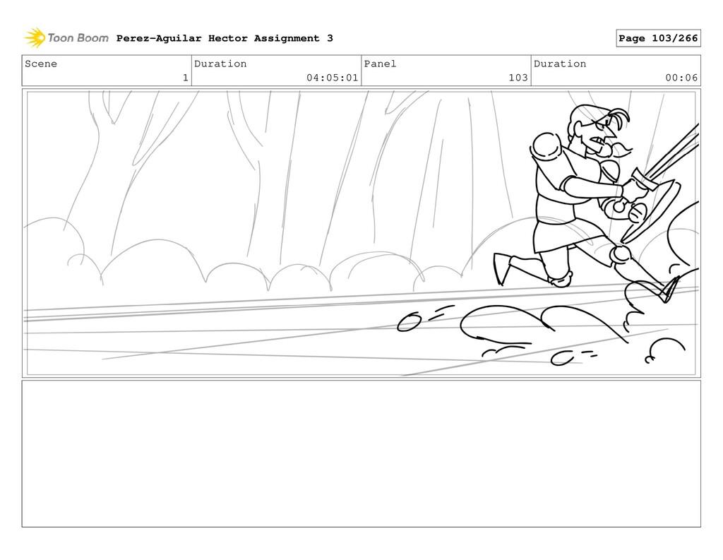 Scene 1 Duration 04:05:01 Panel 103 Duration 00...