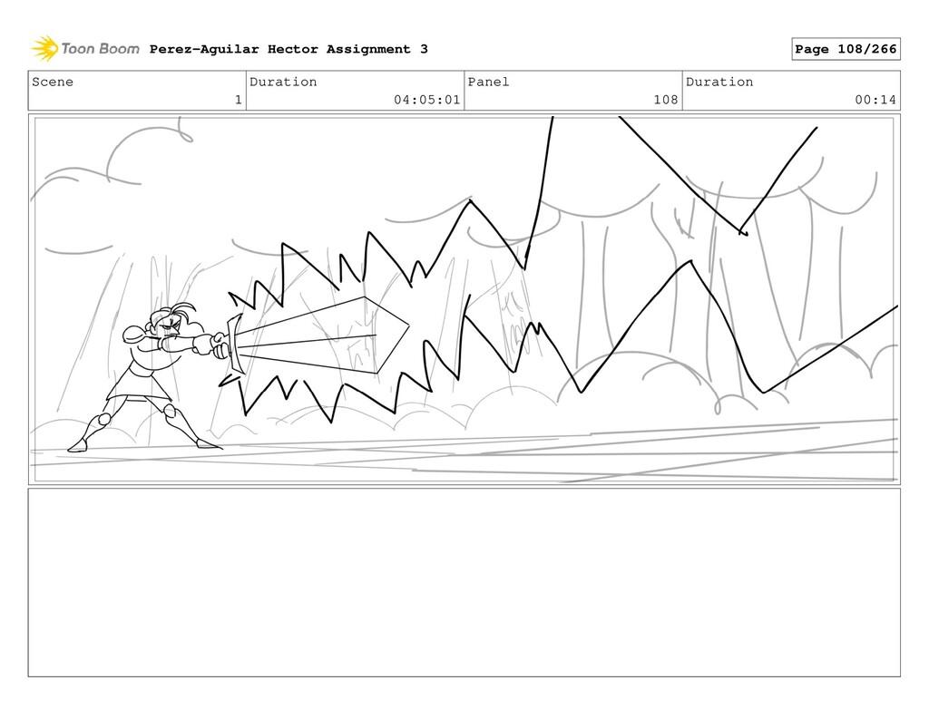 Scene 1 Duration 04:05:01 Panel 108 Duration 00...