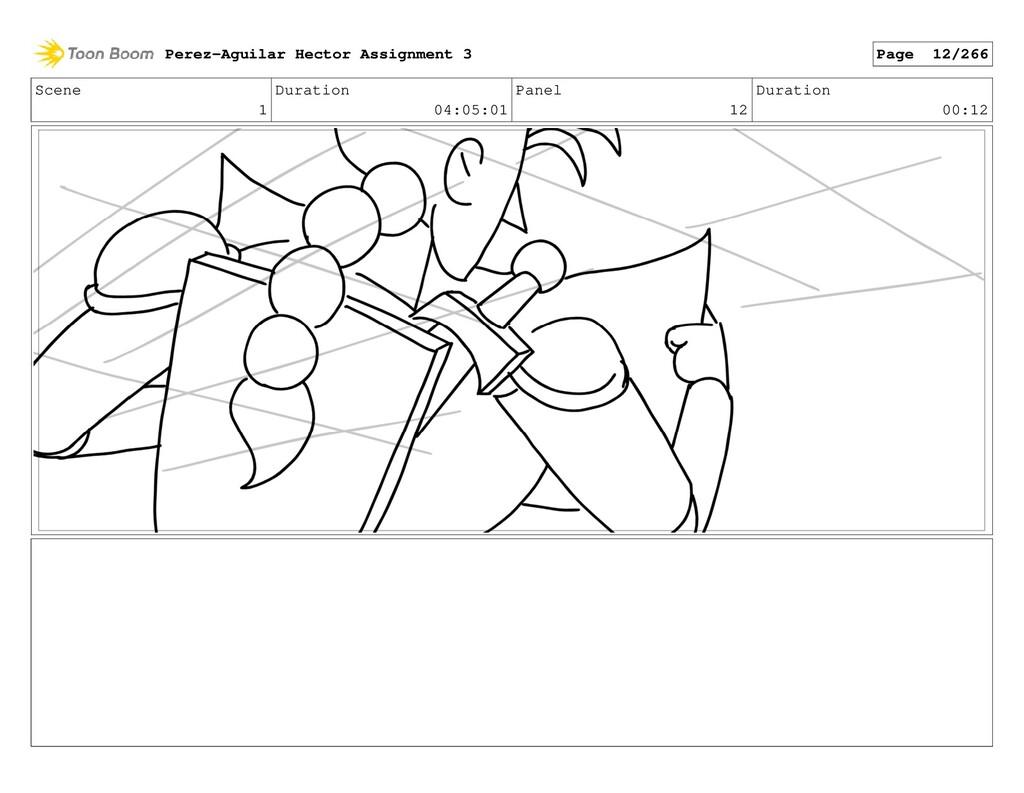 Scene 1 Duration 04:05:01 Panel 12 Duration 00:...