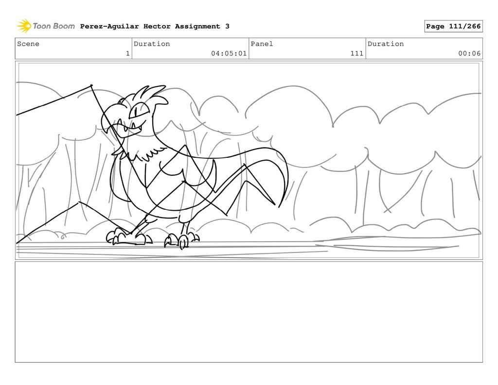 Scene 1 Duration 04:05:01 Panel 111 Duration 00...