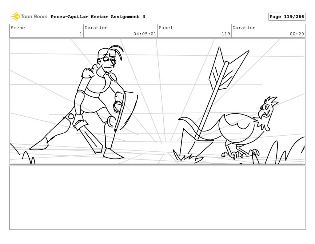 Scene 1 Duration 04:05:01 Panel 119 Duration 00...