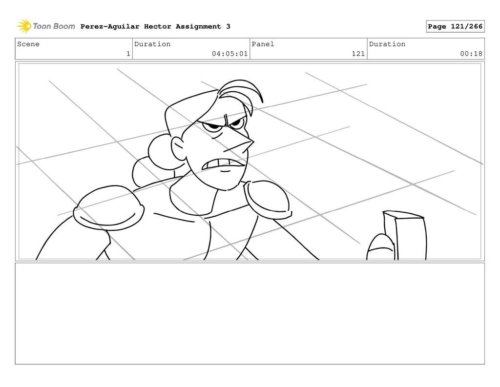 Scene 1 Duration 04:05:01 Panel 121 Duration 00...