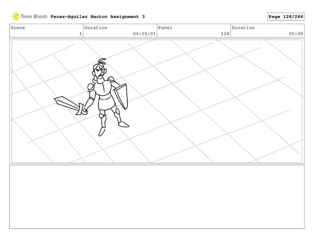 Scene 1 Duration 04:05:01 Panel 128 Duration 00...