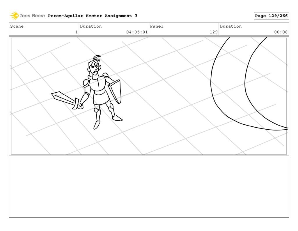 Scene 1 Duration 04:05:01 Panel 129 Duration 00...