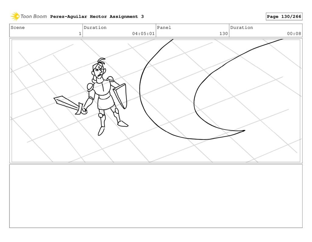 Scene 1 Duration 04:05:01 Panel 130 Duration 00...