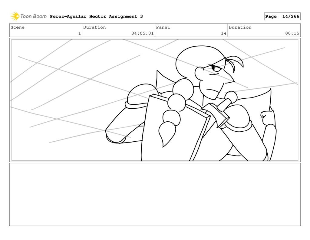 Scene 1 Duration 04:05:01 Panel 14 Duration 00:...
