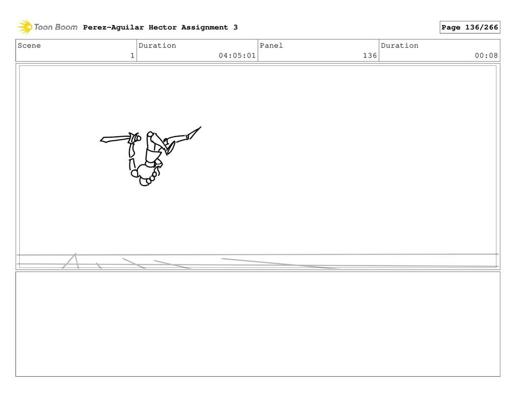 Scene 1 Duration 04:05:01 Panel 136 Duration 00...