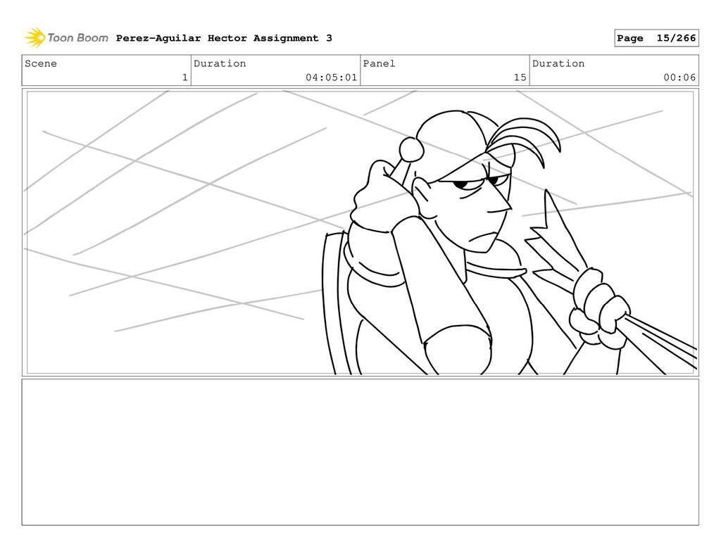 Scene 1 Duration 04:05:01 Panel 15 Duration 00:...