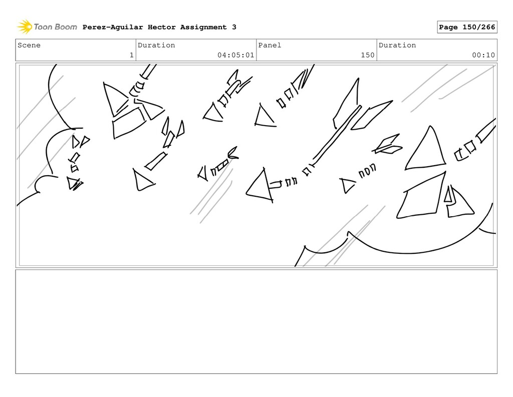 Scene 1 Duration 04:05:01 Panel 150 Duration 00...