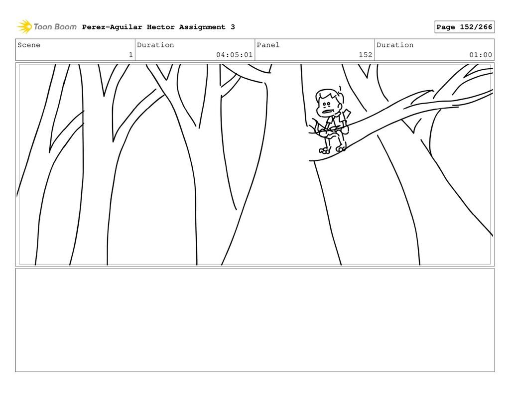 Scene 1 Duration 04:05:01 Panel 152 Duration 01...