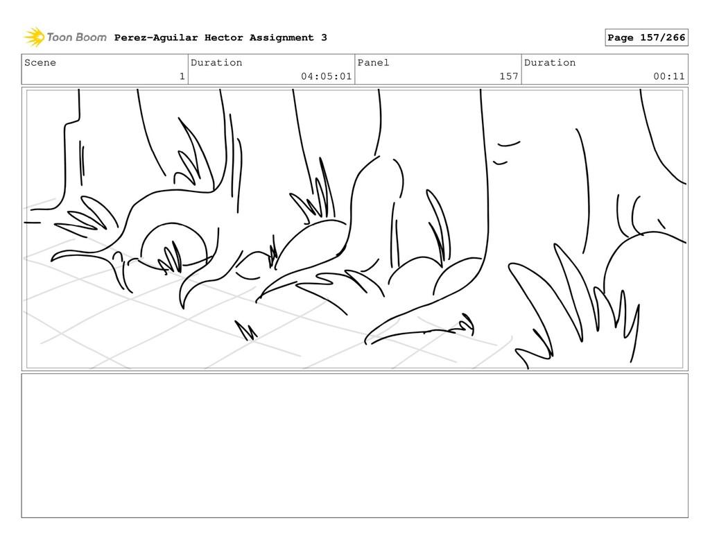 Scene 1 Duration 04:05:01 Panel 157 Duration 00...