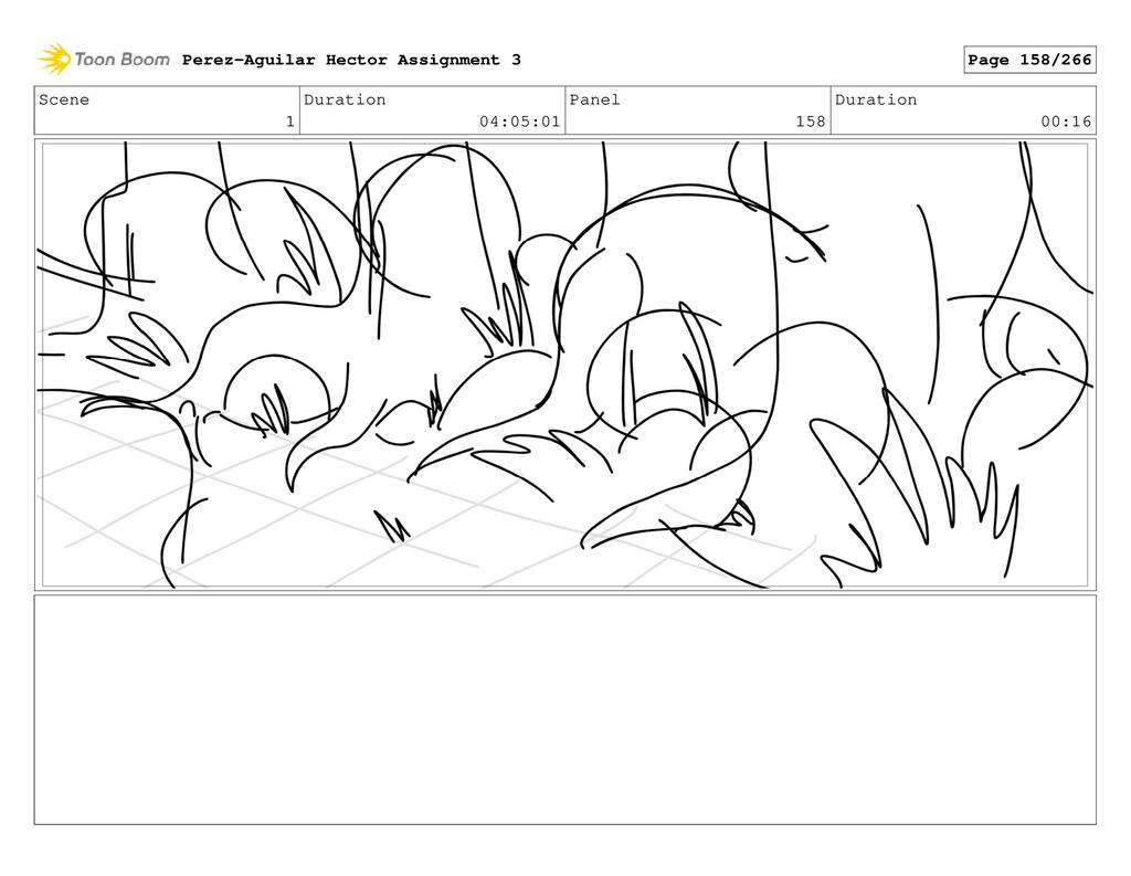 Scene 1 Duration 04:05:01 Panel 158 Duration 00...
