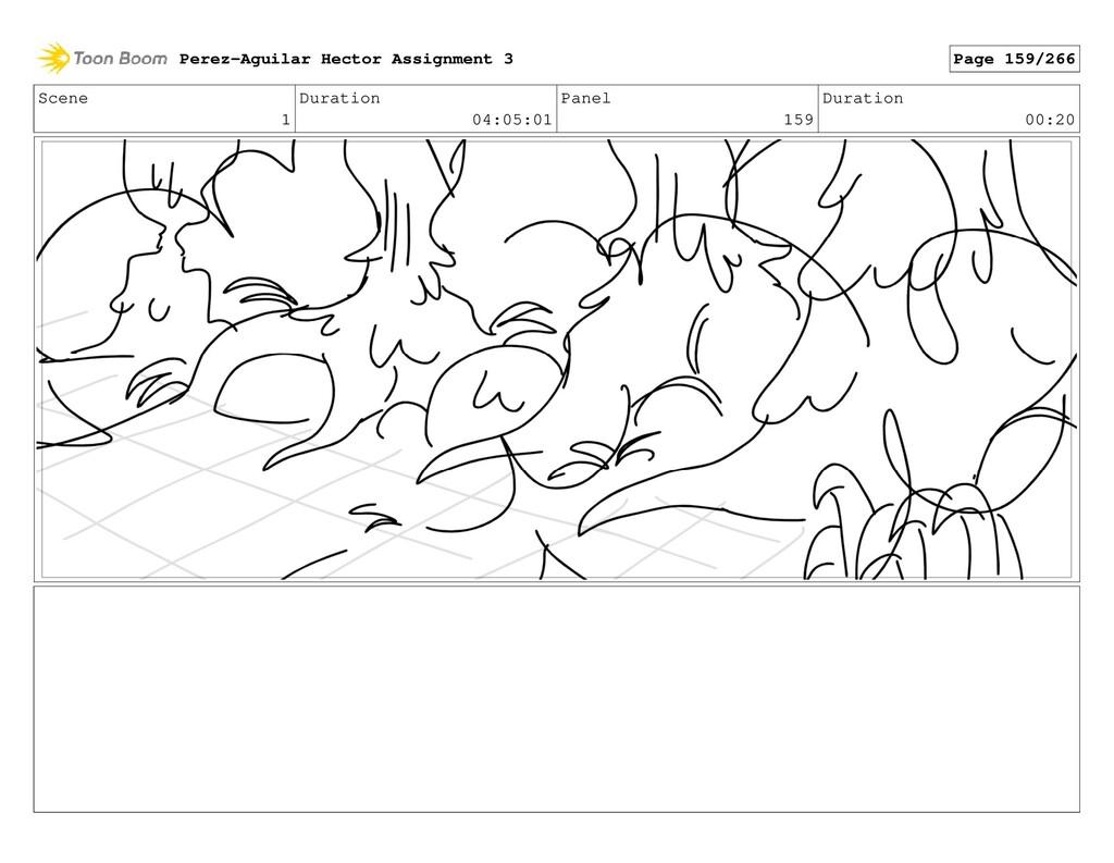 Scene 1 Duration 04:05:01 Panel 159 Duration 00...