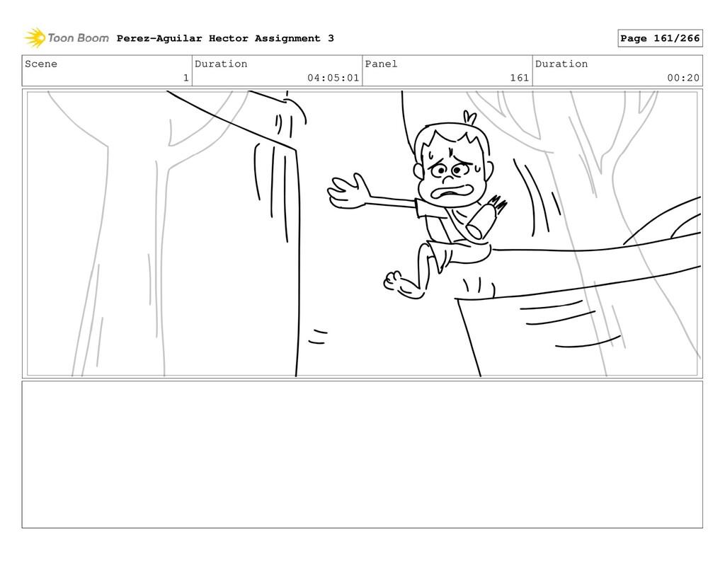 Scene 1 Duration 04:05:01 Panel 161 Duration 00...