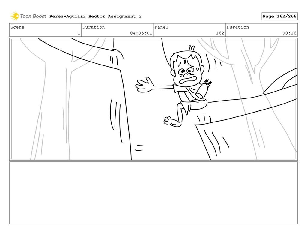 Scene 1 Duration 04:05:01 Panel 162 Duration 00...
