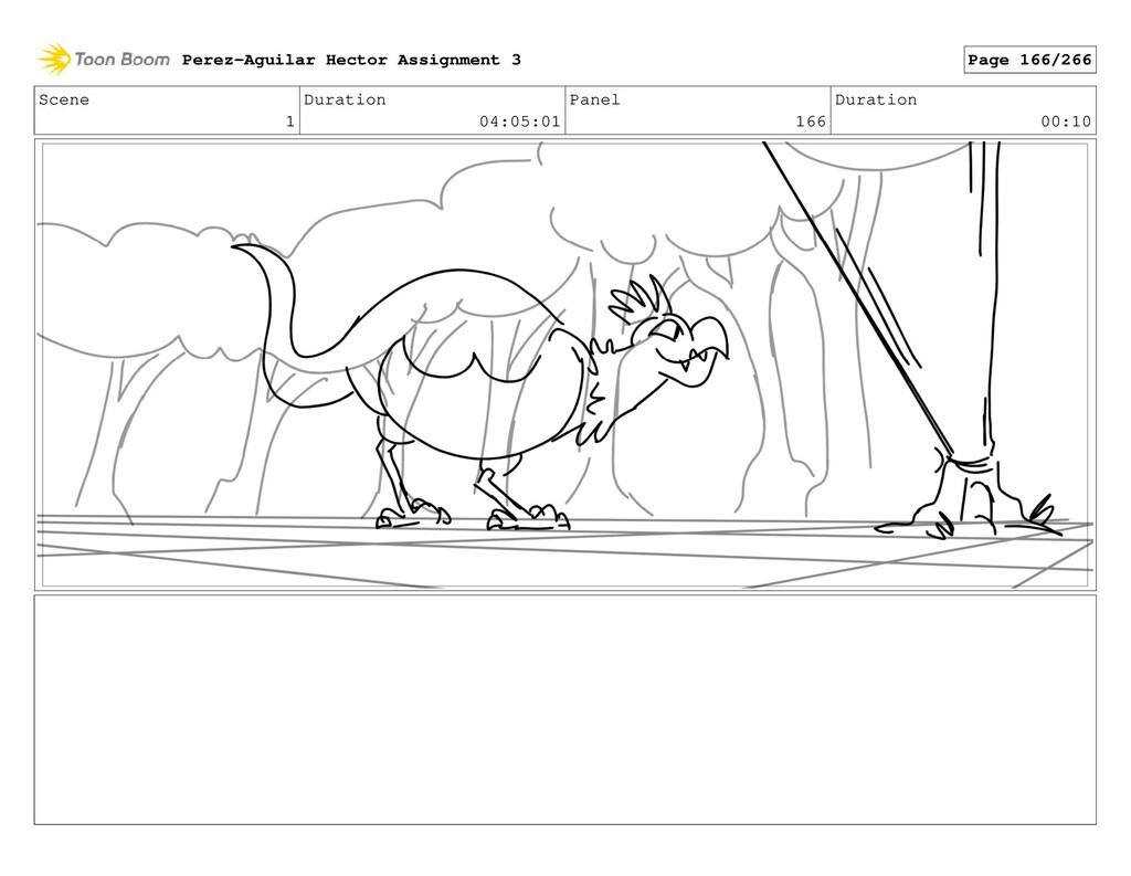 Scene 1 Duration 04:05:01 Panel 166 Duration 00...