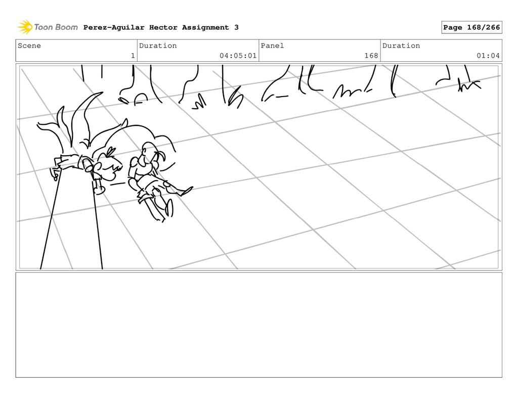 Scene 1 Duration 04:05:01 Panel 168 Duration 01...