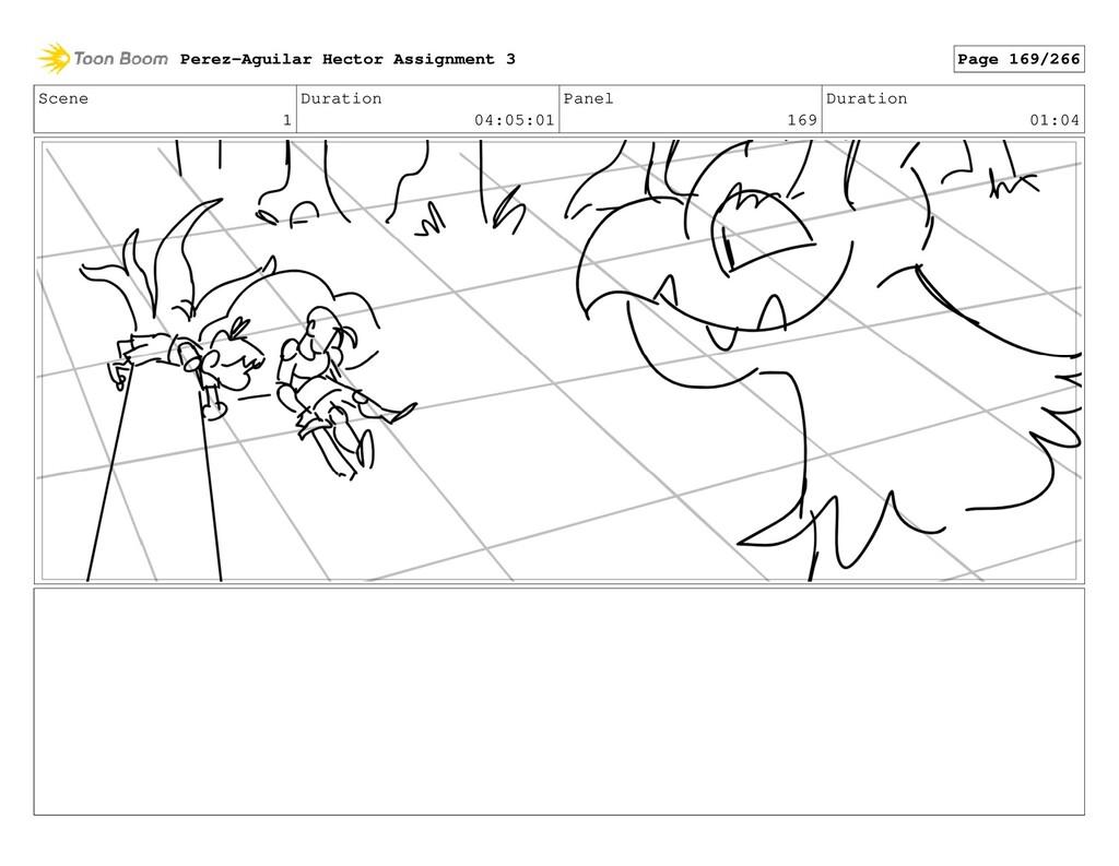 Scene 1 Duration 04:05:01 Panel 169 Duration 01...