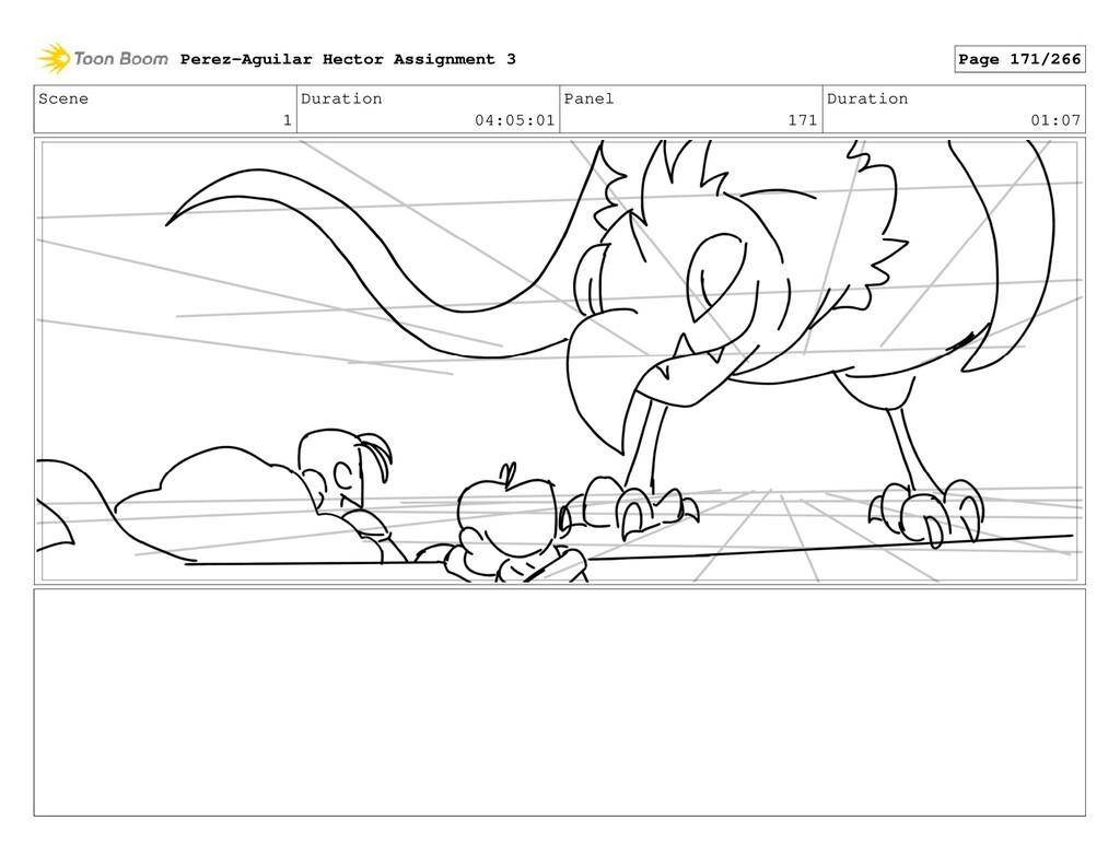 Scene 1 Duration 04:05:01 Panel 171 Duration 01...