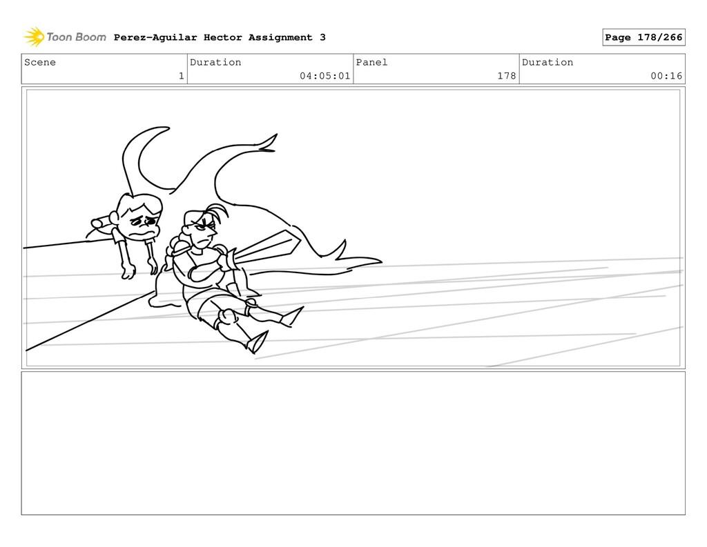 Scene 1 Duration 04:05:01 Panel 178 Duration 00...