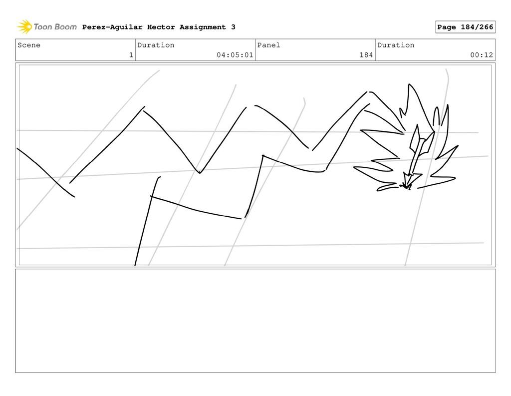 Scene 1 Duration 04:05:01 Panel 184 Duration 00...