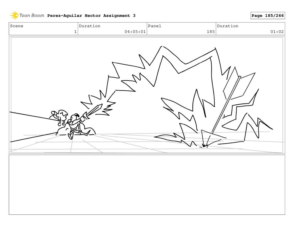 Scene 1 Duration 04:05:01 Panel 185 Duration 01...