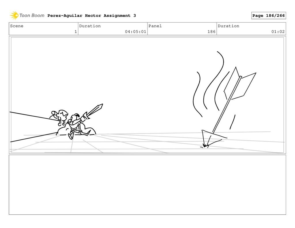 Scene 1 Duration 04:05:01 Panel 186 Duration 01...