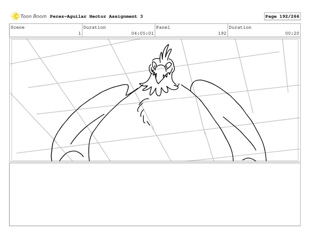 Scene 1 Duration 04:05:01 Panel 192 Duration 00...