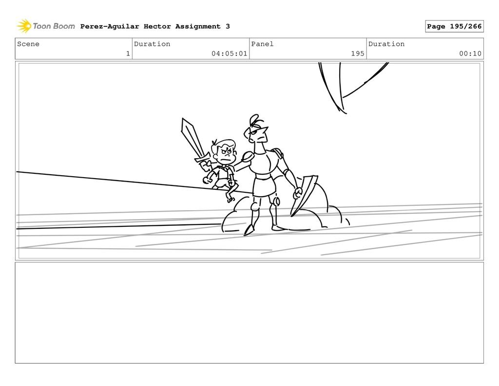 Scene 1 Duration 04:05:01 Panel 195 Duration 00...