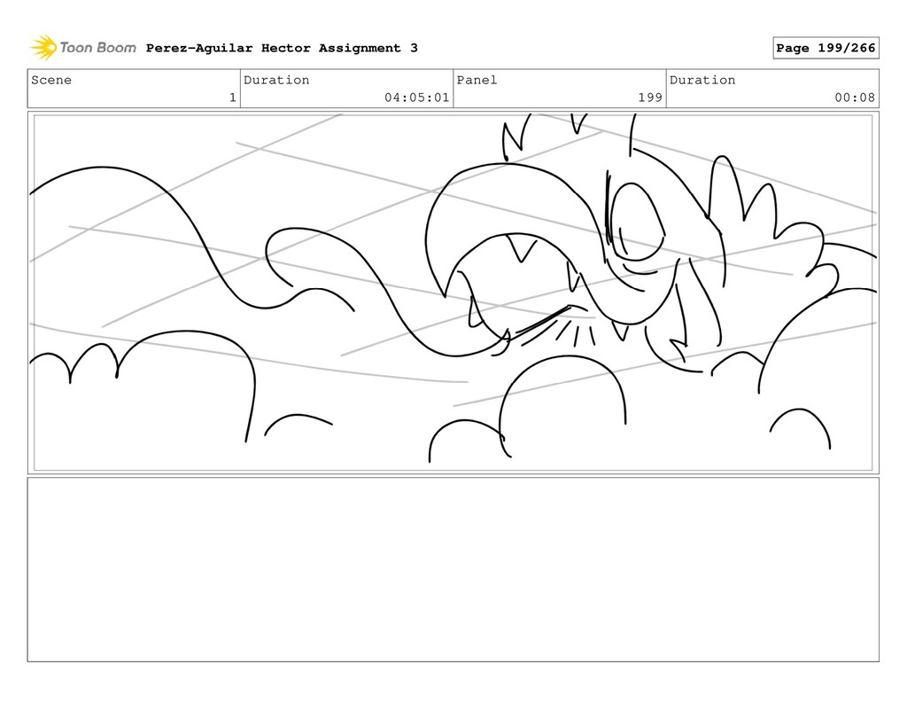 Scene 1 Duration 04:05:01 Panel 199 Duration 00...