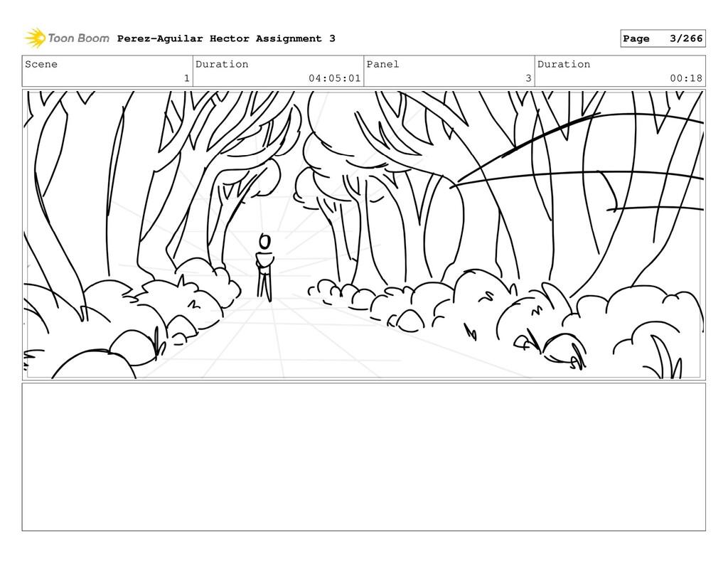 Scene 1 Duration 04:05:01 Panel 3 Duration 00:1...