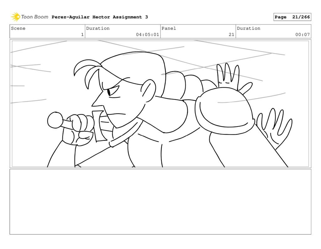 Scene 1 Duration 04:05:01 Panel 21 Duration 00:...