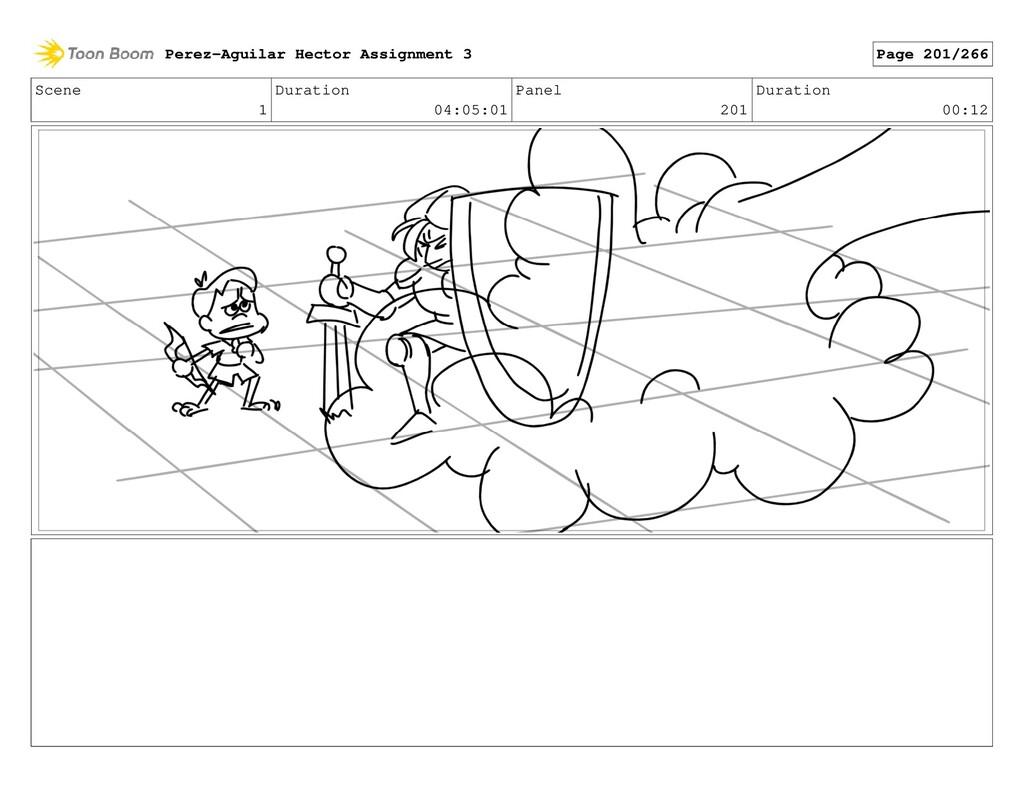 Scene 1 Duration 04:05:01 Panel 201 Duration 00...