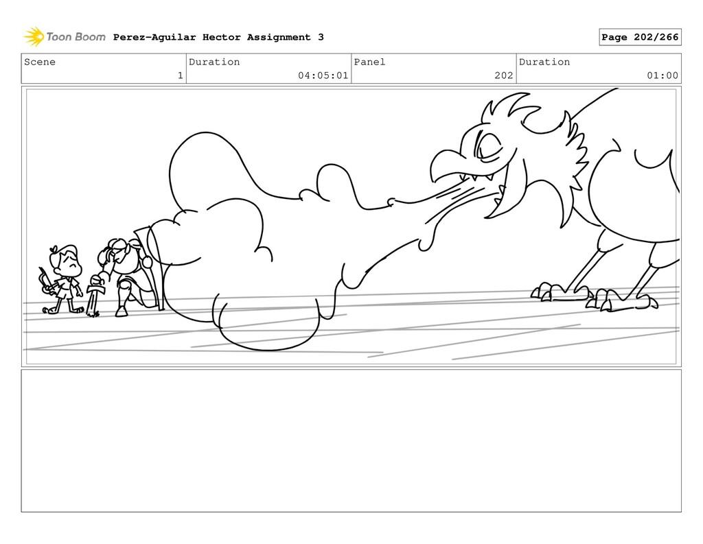 Scene 1 Duration 04:05:01 Panel 202 Duration 01...