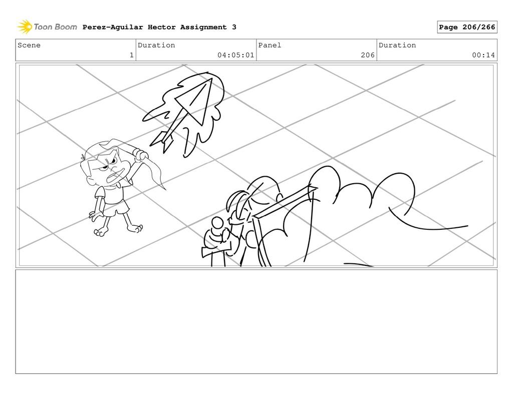 Scene 1 Duration 04:05:01 Panel 206 Duration 00...