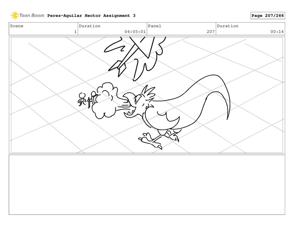 Scene 1 Duration 04:05:01 Panel 207 Duration 00...