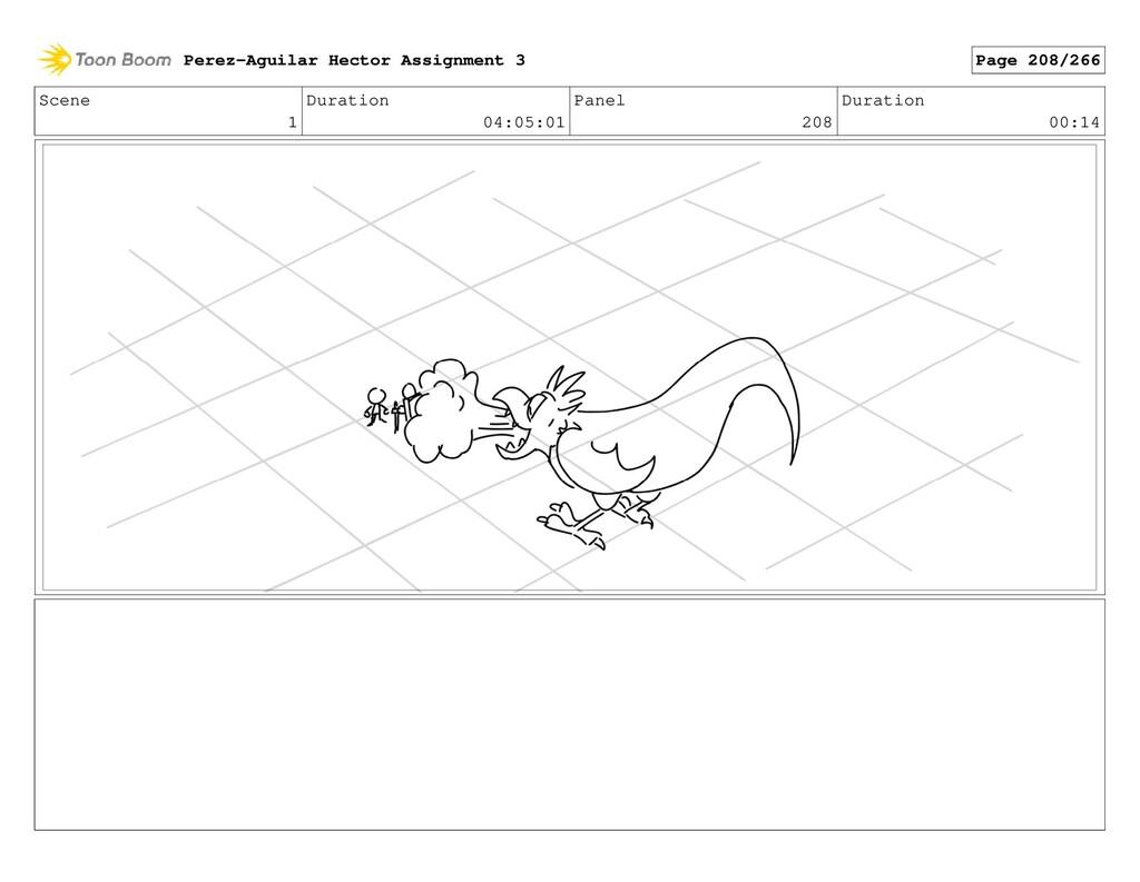 Scene 1 Duration 04:05:01 Panel 208 Duration 00...