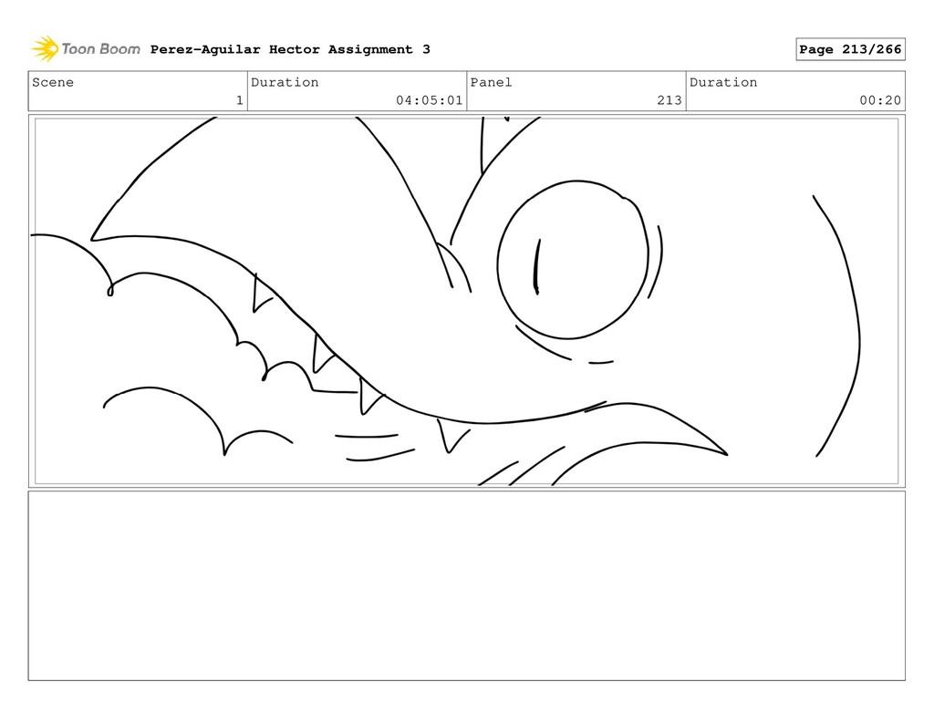 Scene 1 Duration 04:05:01 Panel 213 Duration 00...