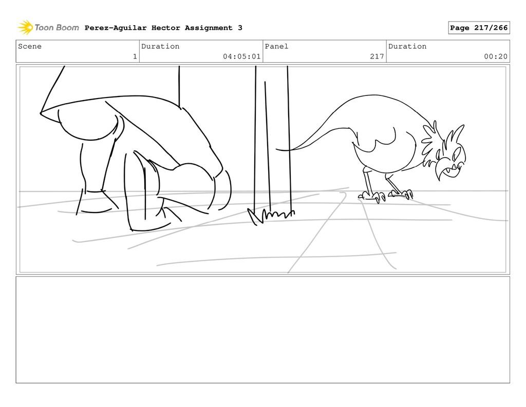Scene 1 Duration 04:05:01 Panel 217 Duration 00...