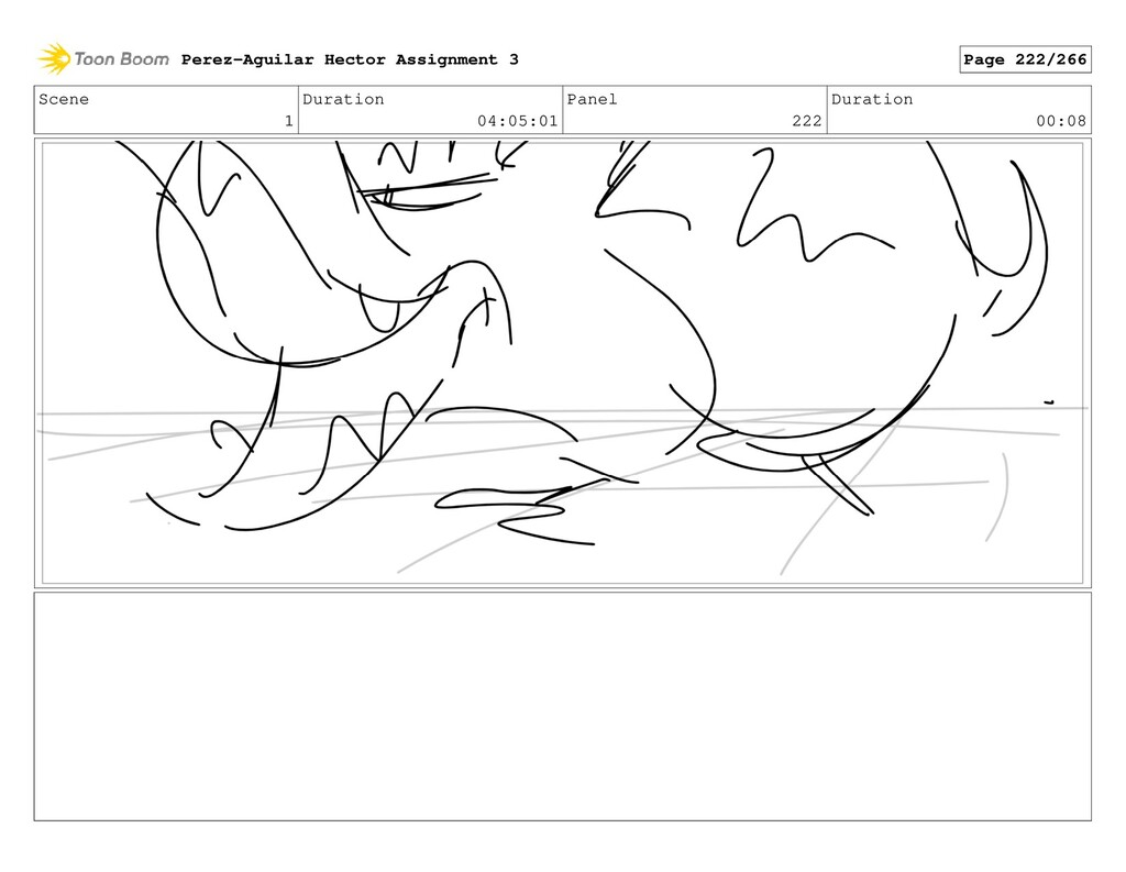 Scene 1 Duration 04:05:01 Panel 222 Duration 00...