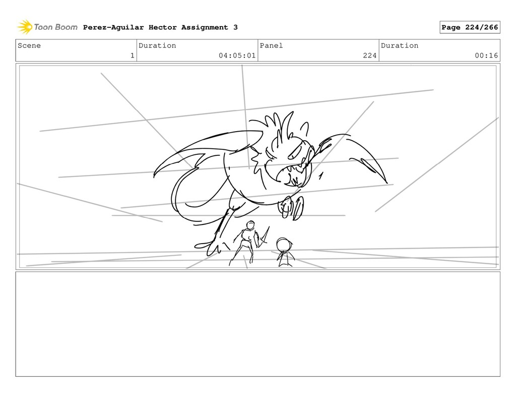 Scene 1 Duration 04:05:01 Panel 224 Duration 00...